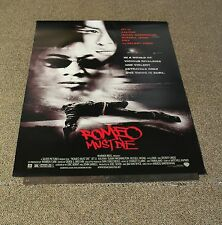 """ROMEO MUST DIE - 2000 MOVIE POSTER 27""""x40"""" - NO FOLDS - JET LI - KING FU -T"""