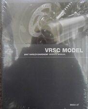 2007 Harley VRSC VRSCX VRSCDX VRSCD VROD V-ROD Repair Service Manual NEW 501-07