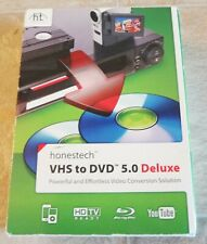 Honestech VHS to DVD 5.0 Deluxe Video Conversion Complete Kit NEW