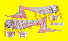 SERIE ADESIVI DECALCO CUPOLINO APRILIA RS 50 2001 NERO DIABLO  AP8627421