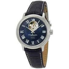 Raymond Weil Maestro Automatic Men's Leather Watch 2227-STC-00508