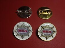 B.S.A. Airguns (New design) Silver & Gold Plated PIN Badges