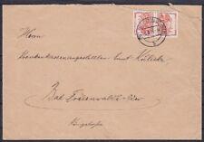 DR SK 16 EF Brief, gel. in Bad Freienwalde 03.03.1923, Kehrdruck Nothilfe