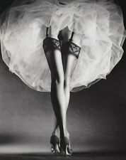 "FASHION PHOTOGRAPH BY GERMAN AMERICAN ARTIST HORST P HORST - ""ROUND THE CLOCK"""