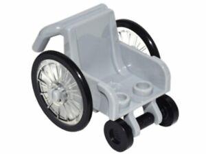new LEGO System light bluish-gray Wheelchair