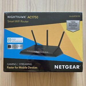 Netgear NIGHTHAWK AC1750 Smart WiFi Router dual band Model R6700 gaming wi-fi