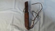Vintage Puma Leather Knife Sheath Made in Germany
