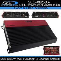 DS18 SLC-X1850.4 4 Channel 1850 Watts Amplifier Fullrange Car Stereo Speaker Amp
