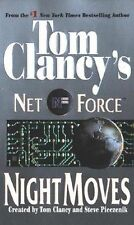 Night Moves: Net Force #3 - Tom Clancy paperback GC Action adventure &  intrigue