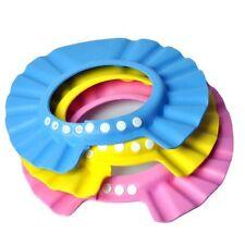 EQLEF® 3Pcs/Lot Baby Hat Toddler Kids Shampoo Bath Shower Cap Wash Hair Shield
