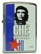 Zippo Che Guevara Gebürstet Blau Weiss Feuerzeug Neu 60001459 Motiv 3