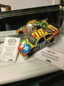 Kyle Busch#18 M&Ms 2009 Camry Elite Autographed 1 of 700