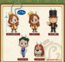 Takara Professor Layton Mystery Tanteisha: Katori no Nazotoki File Key chain Set