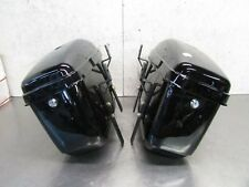 G HONDA SHADOW ACE 750 CD 2000 AFTERMARKET REAR RIGHT & LEFT SADDLEBAG (TWO)
