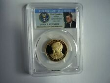 2015S(SPECIAL PCGS SLAB)KENNEDY PRESIDENTIAL DOLLAR-PROOF 69 DECAMEO A BEAUTY