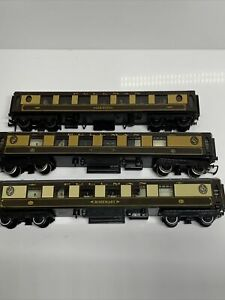 Hornby / Dublo Bundle Of OO Gauge Pullman Coaches x3 For Spares / Repair