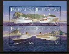 Gibraltar SGMS 1184 2006 cruceros estampillada sin montar o nunca montada