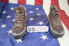 Scarpe CONVERSE All Star Alte camoscio Marrone (Cod.SS1313) USATO Donna N.39,5