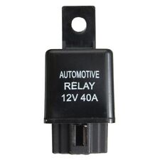 12V 40A 40 AMP Car Auto Automotive Van Boat Bike 4 Pin SPST Alarm Relay US