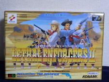 Lethal Enforcers II Konami Justifier Light Gun *Near Mint* Sega Genesis CD Mega