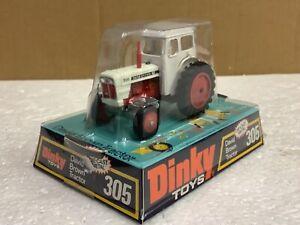 1/43 scale Dinky toys no305 David Brown 995 tractor tracteur traktor