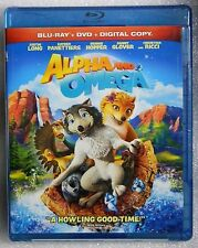 Alpha and Omega WS 2010 Blu-ray/DVD Digital Copy Included and HAS NOT BEEN USED