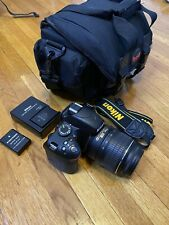 Nikon D D3200 24.2MP Digital SLR Camera - Black (Kit w/ AF-S DX ED VR G 18-55mm