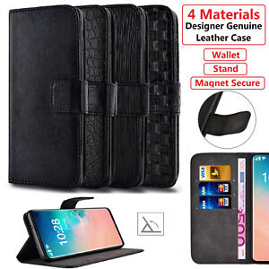 Luxury Leather Wallet Flip Case Cover for Samsung Galaxy S10 Plus S9 S8 + S20 FE
