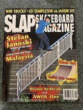 Slap Skateboard Magazine June 2001 Caswell Berry