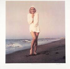 "Marilyn Monroe lithograph, signed and numbered, George Barris, ""Chilly Wind"""
