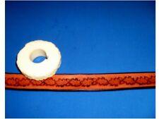 "Oak Leaf & Acorn Border Leather Emboss Roll High Impact Poly 1/2"" Wide"