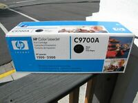 Genuine HP C9700A in sealed box black
