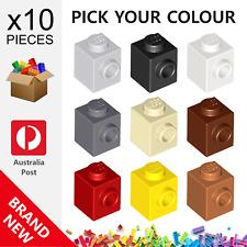 10x Genuine LEGO™ - Modified 1 x 1 with Stud SNOT Bricks - 87087 New Brick