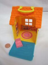 FISHER PRICE Sweet Streets Dollhouse CLUBHOUSE PLAYHOUSE Structure Orange Roof