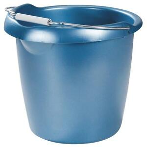 Rubbermaid 15Qt Blue Bucket