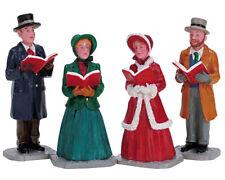 LEMAX 72403 - Christmas Harmony, Set of 4  -  Weihnachtsdorf Winterdorf