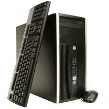 HP Compaq Elite 8300 MT Intel Core i5 3rd generazione 6 GB Ram 500 GB HDD Windows 7 WIFI