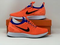 Nike Air Zoom Mariah Flyknit Racer Orange 918264-800 Men Running shoes Size 10