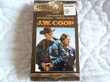 J.W. COOP VHS CLIFF ROBERTSON GERALDINE PAGE NATIONAL FINALS RODEO COWBOY DRAMA
