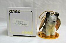 new! Skye Terrier 1996 Christmas Angel Tiny Ones Puppy Dog Figurine X-Mas Dta-45