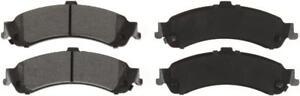 Disc Brake Pad-Global Semi-Metallic Brake Pad Bendix MRD834