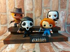HORROR FUNKO POPS. DISPLAY STAND. HORROR CLASSICS. MYSTERY MINIS. POP VINYL.