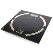 396lb 180KG Digital Body Fat Hydration Scale Bathroom Weight Scale black