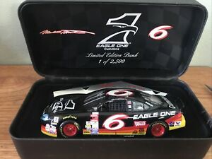 1998 Mark Martin #6 Eagle One Cummins 1:24 Racing Champions Authentic Bank
