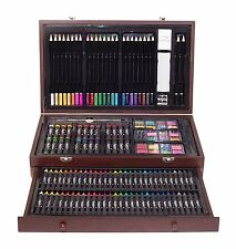 Art Supplies For Teens Adults Coloring Pencils Shading Paint Set Drawing Kit New