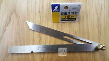 """Japanese Shinwa 62588 Sliding Bevel Gauge 150mm (6"""") Stainless Steel"""