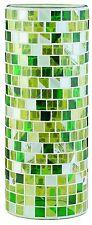 998.48 Paulmann Lampenschirme Living 2Easy Glas Fabro Mosaik Gelb/Grün
