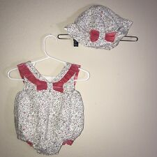 Savannah Baby Girl  Baby Rompers Hat Set 3-6 Months #02