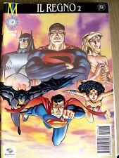 Il Regno 2 Superman Batman Wonder Woman Play Magazine n°43 2000 ed. Play Pr[SP8]