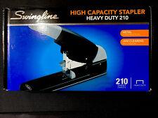 Swingline High Capacity Heavy Duty Stapler 210 Sheets Capacity